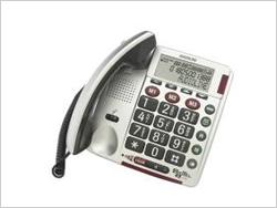 Audioline Bigtel 49 plus, mit programmierbaren Notrufnummern
