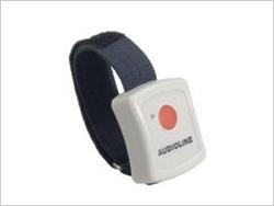 Das Audioline Bigtel 50 Alarm Plus verfügt zusätzlich noch über einen handlichem Alarmgeber
