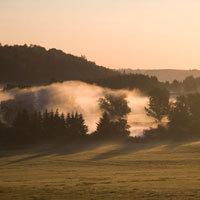 Sommermorgen in Bad Steben - Foto: Bayerisches Staatsbad Bad Steben