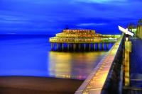 Scheveningen - Ein gigantisches Pier erstreckt sich vom Boulevard bis in die Nordsee - Foto: NBTC