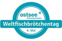 Das Logo des Weltfischbrötchentags. - Foto: djd/Ostsee-Holstein-Tourismus e.V.
