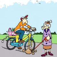 So schnell ist ein Malheur passiert: E-Bikes bis 25 km/h werden aber von allen großen Versicherern wie nicht motorisierte Fahrräder behandelt und sind deshalb im Deckungsumfang der privaten Haftpflicht enthalten. - Foto: djd/Ergo Direkt Versicherungen