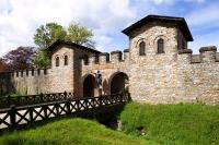 Die Saalburg ist das einzige vollständig restaurierte Römerkastell Deutschlands. - Foto: djd/Taunus Touristik Service e.V.