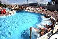 Foto: FIT Reisen - Das Aquapalace Hotel Prag mit direktem Zugang zum 9150 qm großen Aquapark.
