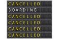 Flieger mit Verspätung
