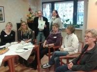 Einrichtungsleiterin Petra Behrendt und das Leitungsteam des Seniorenzentrums Köpenick waren ebenfalls sehr erfreut über das sehr gute Ergebnis der Bewohnerbefragung.