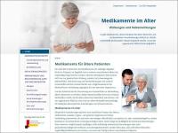 Die Deutsche Seniorenliga hat die Webseite www.medikamente-im-alter.de eingerichtet.