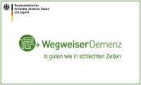 Das Internetportal www.wegweiser-demenz.de wird herausgegeben vom Bundesministerium für Familie, Senioren, Frauen und Jugend.