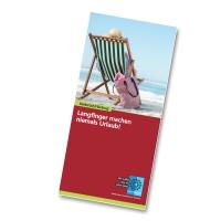 Langfinger machen niemals Urlaub! | Das 16-seitige Faltblatt umfasst Informationen zum Schutz vor Straftaten, wie sie typischerweise bei (Urlaubs-) Reisen auftreten können.