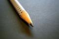 Bleistiftkauen führt zu einer Bleivergiftung.