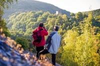 Auf zahlreichen Wandertouren können Aktivurlauber die eindrucksvolle Naturlandschaft der Nahe-Urlaubsregion erkunden.  Foto: djd | Naheland-Touristik