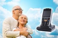 HelpPhone – Das Notfalltelefon mit 24-Stunden-Hausnotruf, AllNet-Telefon-Flatrate, SOS-Notruftaste, Geräteortung per GPS. Rundum-Sorglos-Pflegepaket und vielen weiteren nützlichen Features.