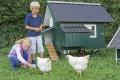 Gartenglück der nachhaltigen Art - Mobiles Hühnerhaus