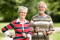 Aktiv im Ruhestand: Auf seine Sehstärke muss man sich bei sportlicher Freizeitgestaltung verlassen können. Foto: djd | ZVA/Peter Böttcher