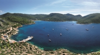 In dem Naturreservat der Cabrera-Inseln dürfen nur wenige Besucher übernachten, nach der Abfahrt des letzten Ausflugbootes ist man fast allein auf der Insel. Foto: mallorcas-schoene-seiten.de